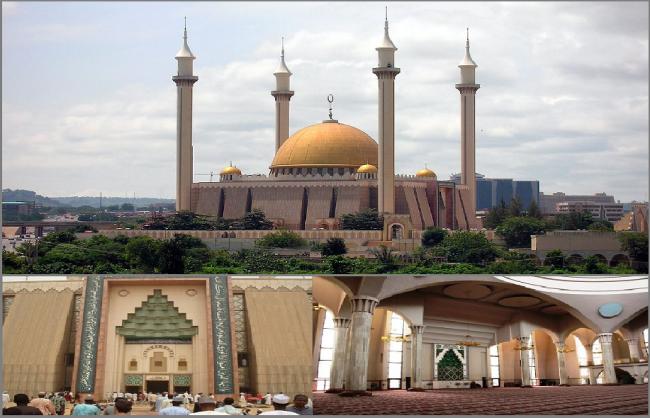 Arsitektur Masjid Nasional Abuja Perpaduan Beragam Budaya