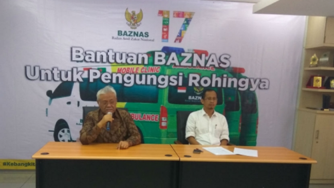 Baznas Kirim 6 Miliar Sumbangan Masyarakat Indonesia Untuk Rohingya