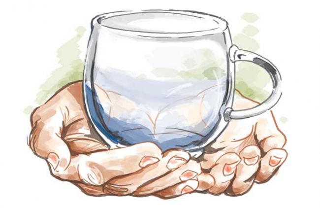 Fokus Saja Pada Air Dalam Gelasmu, Jaga Agar Tak Tumpah
