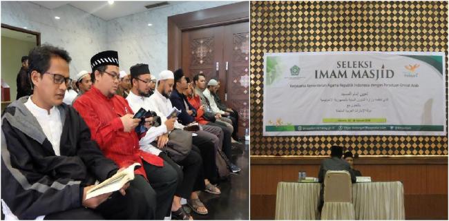 Pra Seleksi Imam Masjid Mancanegara Diikuti Ratusan Peserta