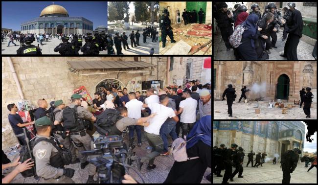 Selain Ribuan Pelanggaran, Israel Serang Al-Aqsa Lebih 40 Kali Dalam Sebulan