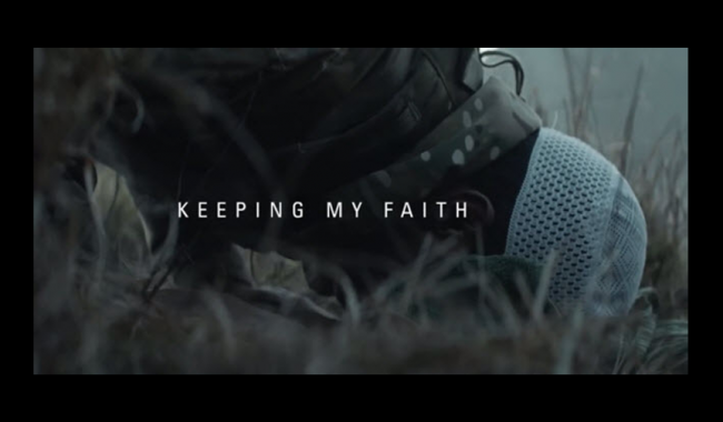 VIDEO – Iklan British Army Keeping My Faith