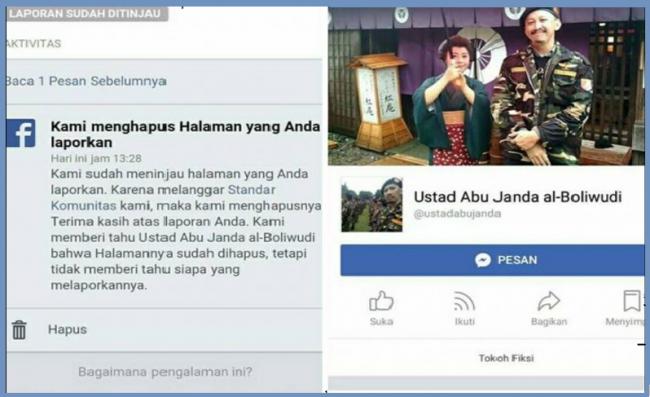 Akun Abu Janda 'Tumbang' Pasca Unggah Parodi Banjir Jakarta