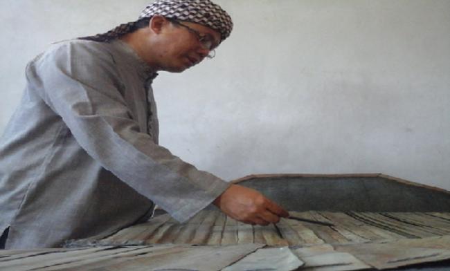 Al-Qur'an Daun Lontar Peninggalan Waliyullah Asal Madura