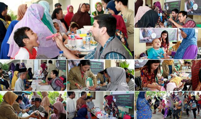 Layanan Kesehatan Keliling Yayasan IZI untuk Kaum Dhuafa