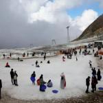 Salju Turun di Tanah Arab, Tanda Kiamat Kian Dekat?