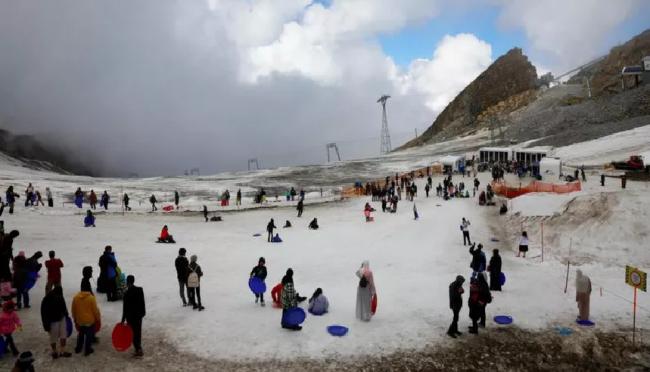 Salju Turun di Tanah Arab, Tanda Kiamat Kian Dekat
