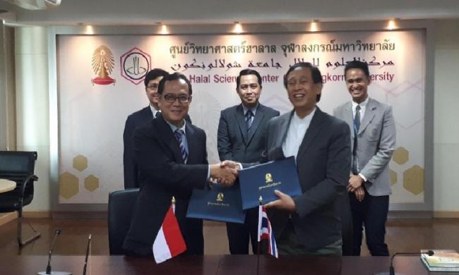 UII Yogya dan Universitas Chulalongkorn Thailand Teken MoU Riset Halal