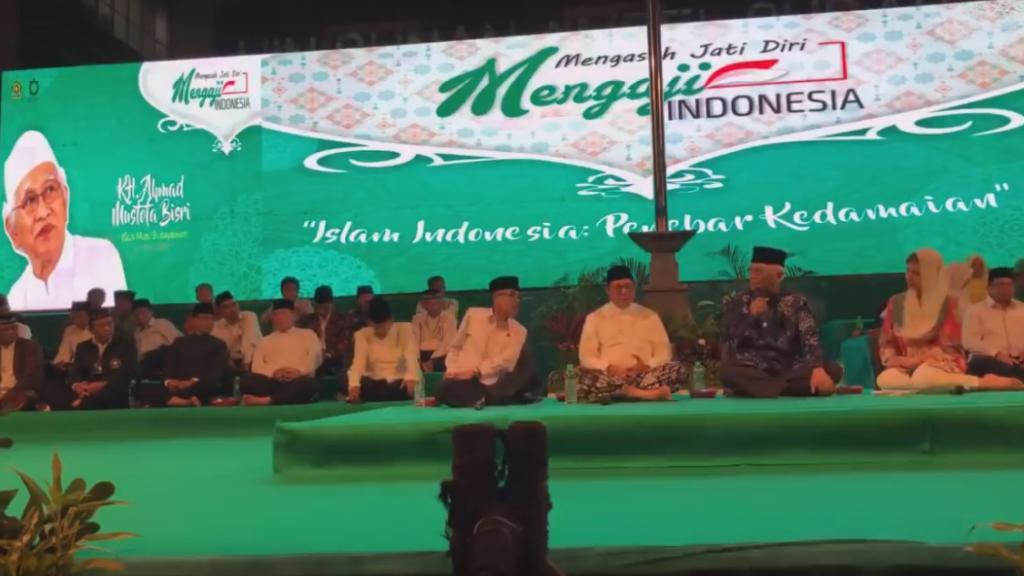 Gus Mus Tentang Indonesia Dahulukan Kasih Sayang Bukan