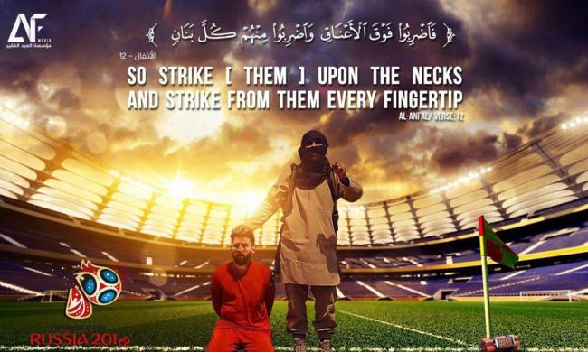Lagi, Teroris ISIS Ancam Eksekusi Lionel Messi