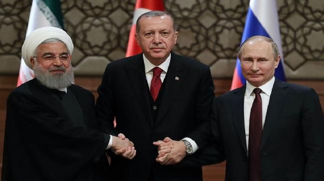 Komitmen Turki-Rusia-Iran Ciptakan Damai Abadi di Suriah