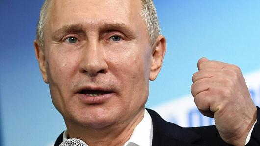 Presiden Rusia Vladimir Putin. Photo: Yuri Kadobnov | POOL | Reuters
