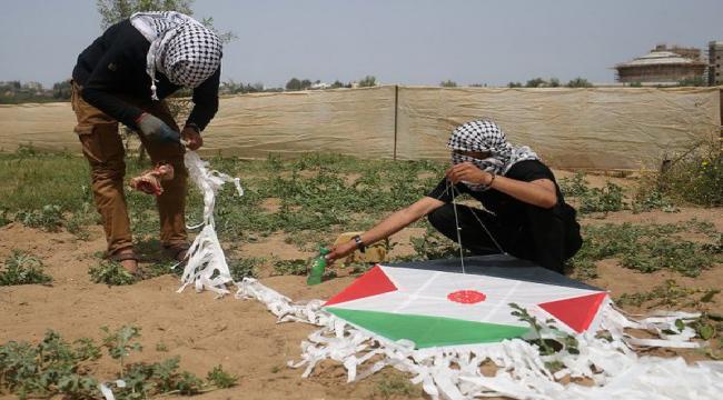 Senjata Baru Intifada Palestina Bom Layang Layang