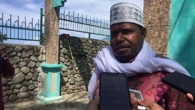 Ketua MUI Papua KH Saiful Islam Al Payage (albert/detikcom)