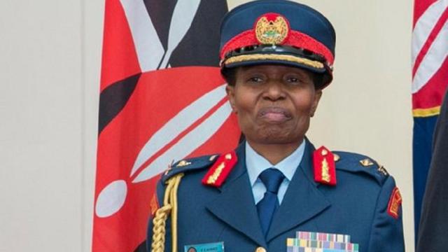 Fatume Ahmed Muslimah Pertama Berpangkat Jenderal di Jajaran Militer Kenya