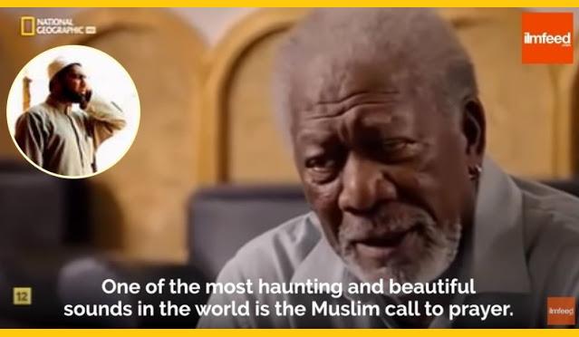 Aktor Kawakan Morgan Freeman Azan, Suara Terindah dan Termerdu di Dunia
