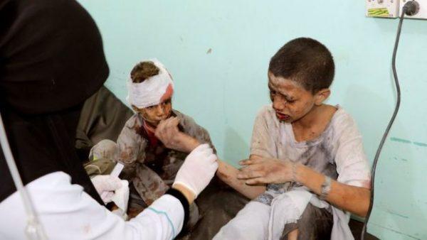 ICRC mengatakan pihaknya mengirim pasokan tambahan untuk membantu rumah sakit untuk menghadapi lonjakan pasien. Photo: Reuters