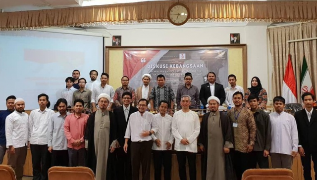 Gelorakan Semangat Persatuan, KBRI Teheran dan HPI Gelar Diskusi Kebangsaan