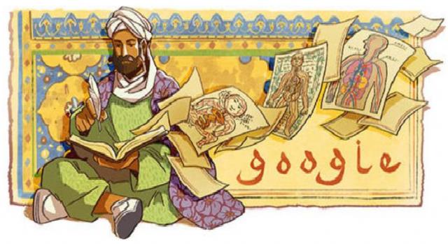 Hari Ini Google Doodle Tampilkan Polymath Muslim Persia, Ibnu Sina