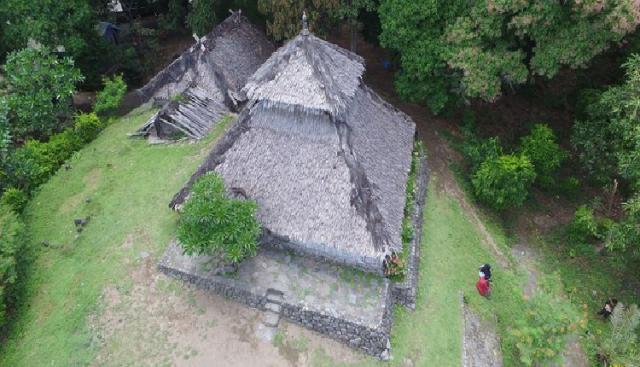 Masjid Kuno 300 Tahun Selamat dari Guncangan Gempa Lombok