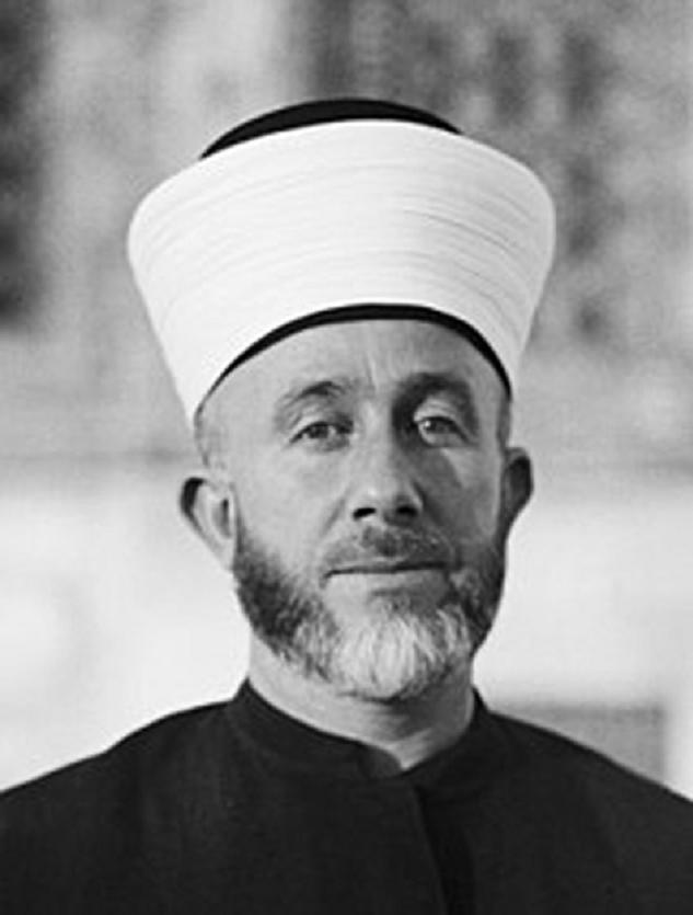 Mufti Besar Palestina M. Amin Husaini. Sumber gambar: Hamid Nabhan, Ziarah Sejarah; Mereka yang Dilupakan, Lamongan, PAGAN PRESS, 2018, hal. 72