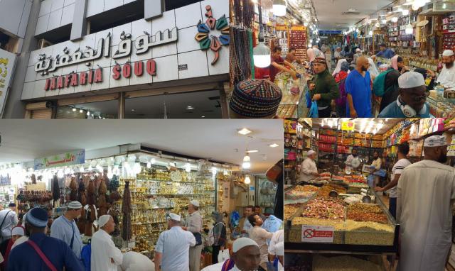 Pasar Ja'fariyah, Surga Oleh-Oleh Jemaah Haji Indonesia di Mekah