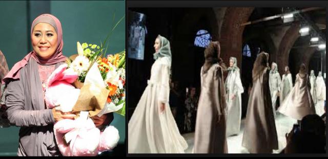 Desainer Muslimah Indonesia Berjaya di Ajang Pagelaran Mode Italia