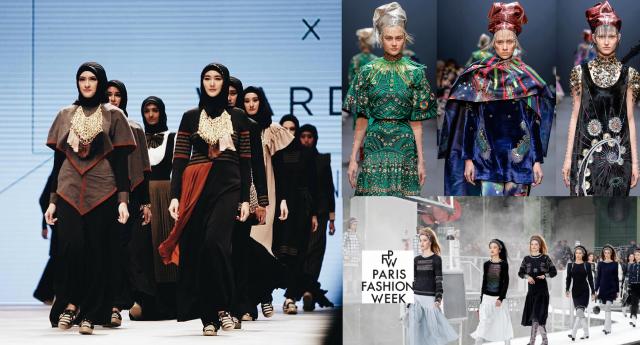 Enam Desainer Muslimah Indonesia Siap Berkiprah di Paris Fashion Week 2018
