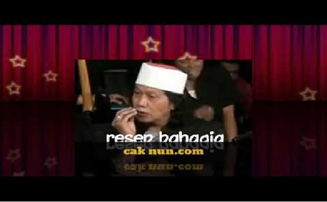 Resep Hidup Bahagia Ala Cak Nun