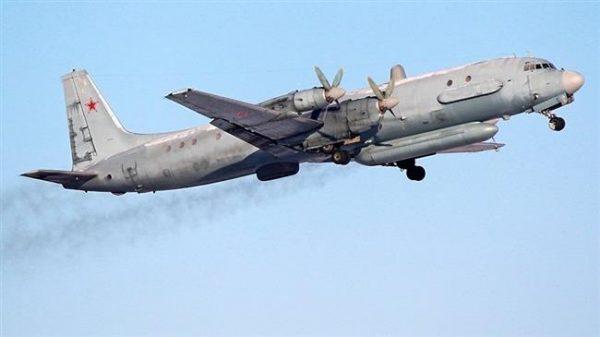 Pesawat pengintai Ilyushin Il-20 Rusia. Photo: Sputnik news agency