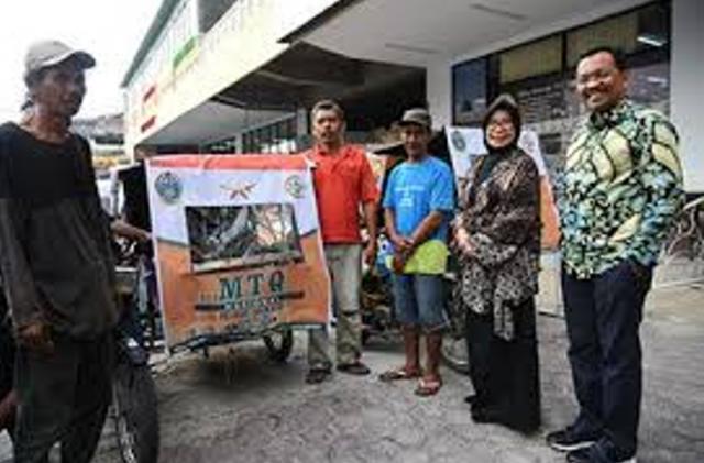 Sosialisasi MTQ Nasional 2018, Pemprov Sumut Bagikan 1000 Tenda Becak