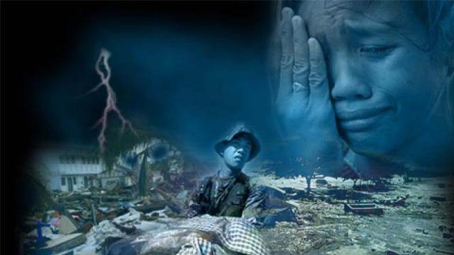 Tetap Sabar Saat Menghadapi Bencana Alam