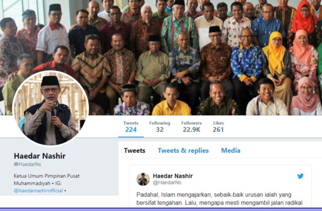 Haedar Nashir Jangan Ekstrem dan Kehilangan Rasionalitas dalam Mencintai Indonesia