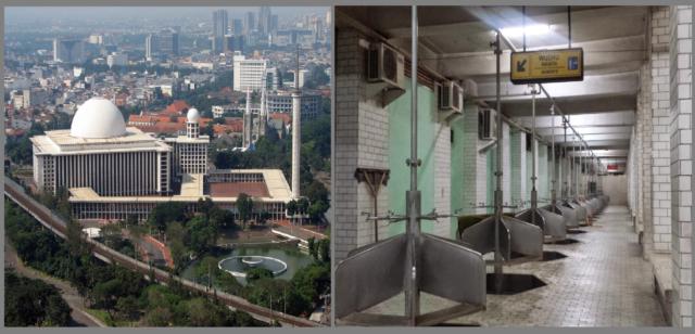 Fasilitas Canggih Pengolah Limbah Air Masjid Istiqlal