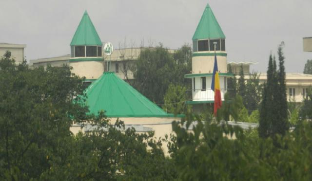 Pyongyang Mosque Masjid 'Sebatangkara' di Korea Utara