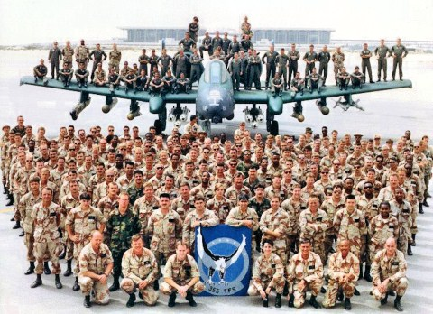 King Fahd Air Base, pangkalan militer Angkatan Udara AS di Dammam, Arab Saudi. Photo: militarybases.com