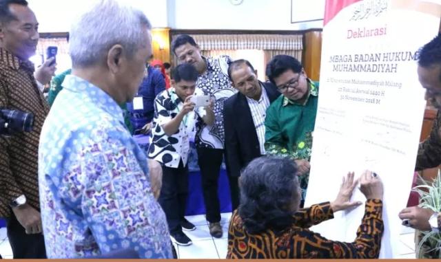 Muhammadiyah Dirikan LBH, Cak Nun Ikut Tandatangan