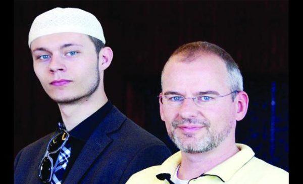 Iskander, putra Arnoud Van Doorn yang memutuskan untuk masuk islam juga. Photo: arabnews.com