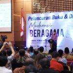 Menteri Lukman Resmi Luncurkan Buku 'Moderasi Beragama'