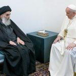 Paus Fransiskus Menemui Ayatollah Sayyid Ali al-Sistani di Najaf untuk Pesan Perdamaian