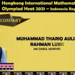 Empat Puluh Santri Indonesia Boyong Medali Olimpiade Matematika Internasional