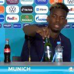 Setelah Aksi Cristiano Ronaldo Menyingkirkan Coca-Cola, Kini Giliran Paul Pogba yang Menyingkirkan Merek Minuman Beralkohol. Apa Sanksinya?